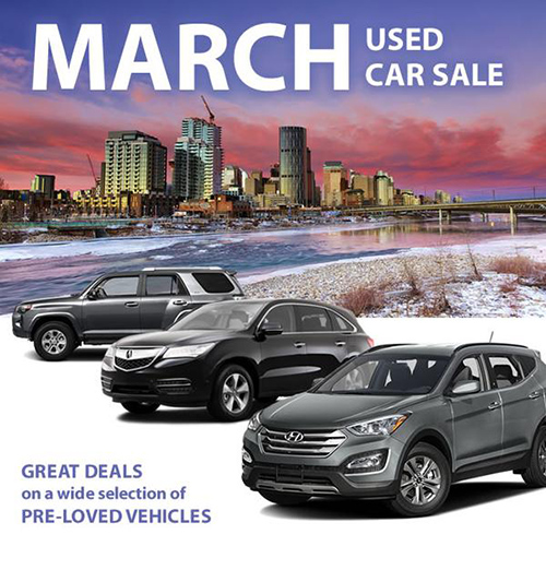 March Used Car Sale