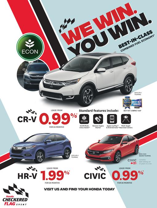 We Win  You Win  | Pacific Honda