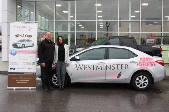 Help raise up to $150,000 for Westminster House   West Coast