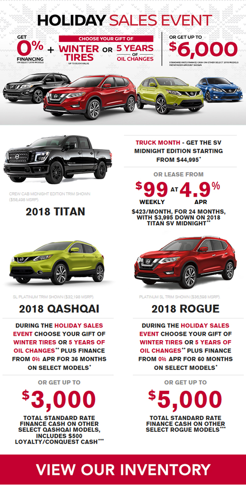 Holiday Sales Event | Brasso Nissan